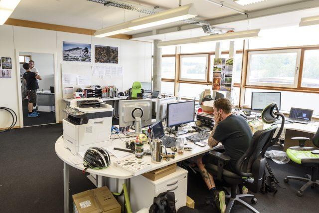 Внутри центра разработке в Магштадте, на окраине Штутгарта, находится небольшая команда, которая создаёт всю линейку Merida. Фото: Джеймс Винсент.