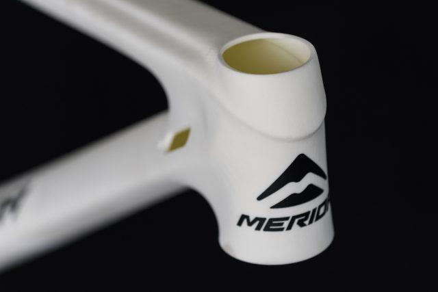 Первая 3D-модель, поступившая с азиатской фабрики Merida, так дизайн обретает физическую форму. Фото: Джеймс Винсент.