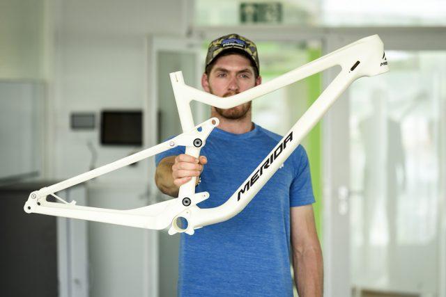 Это первый 3D-прототип байка One-Sixty. Фото: Джеймс Винсент.