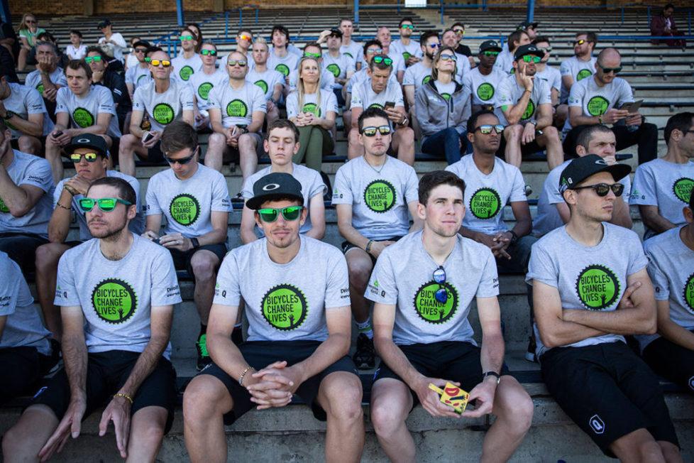 Team Dimension Data объявила свой состав в сезоне 2018 года